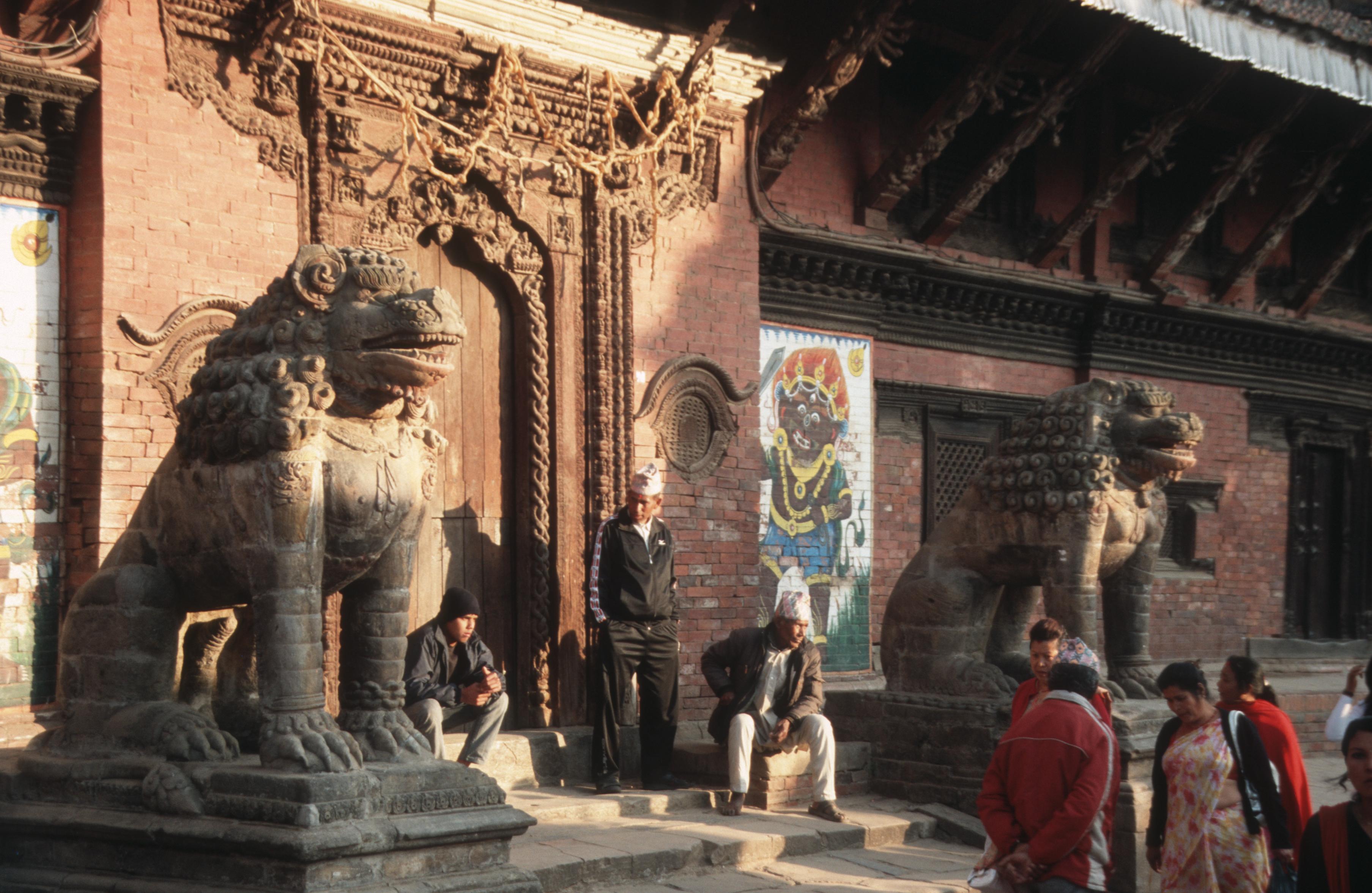Copyright und Bildrechte ANA LOGO 2016 - Stadtszene in Kathmandu Nepal 2010
